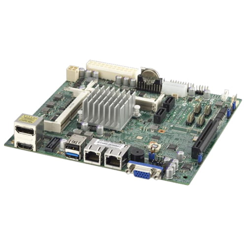 Supermicro X10SBA. Intel Celeron J1900. Mini ITX.