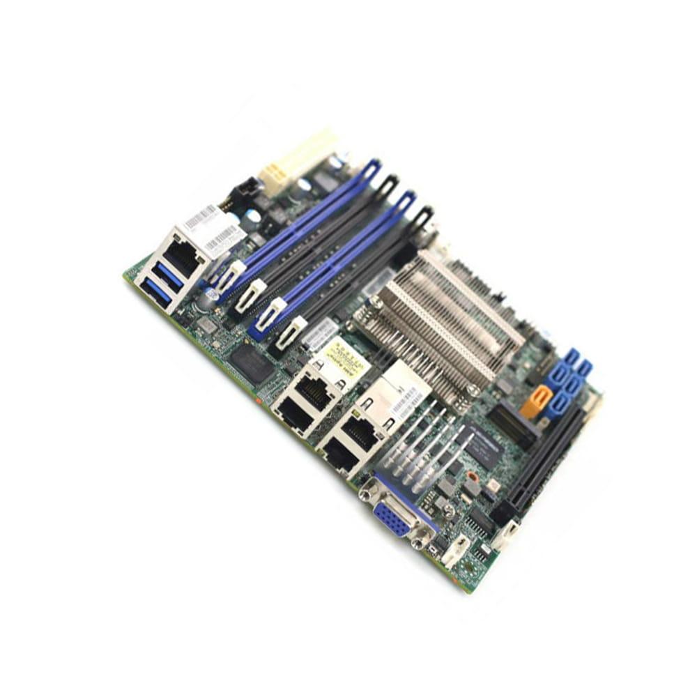 Supermicro X10SDV-6C-TLN4F. Intel Xeon D-1528. Mini-ITX. BULK.