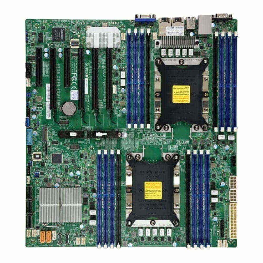 Supermicro MBD-X11DPI-NT. 2x Socket 3647. E-ATX. - BULK