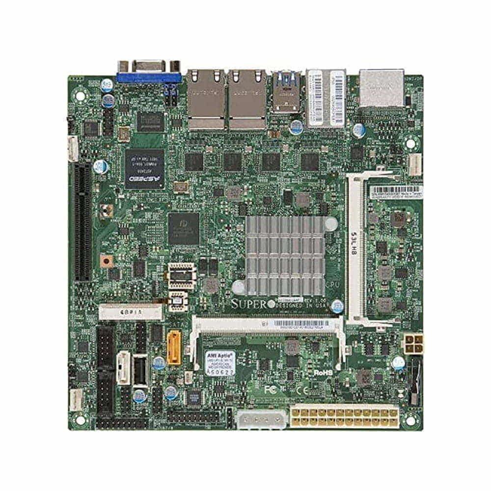 Supermicro X11SBA-LN4F. Intel Pentium N3700. Mini-ITX. BULK.