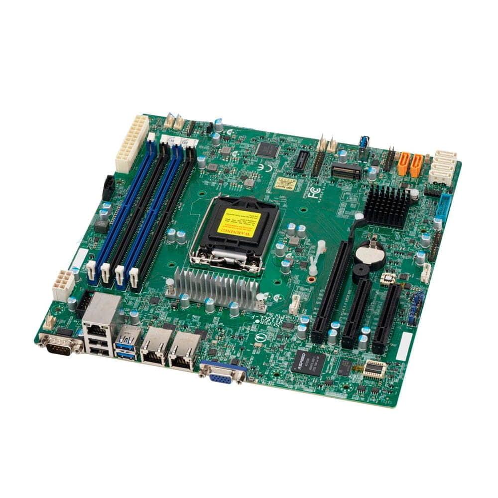 Supermicro MBD-X11SCL-F. Socket 1151. Micro-ATX. BULK.