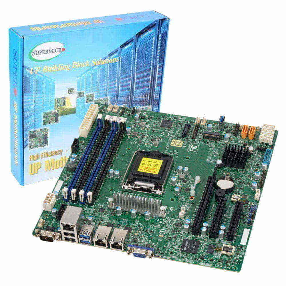 Supermicro MBD-X11SCL-F. Socket 1151. Micro-ATX.