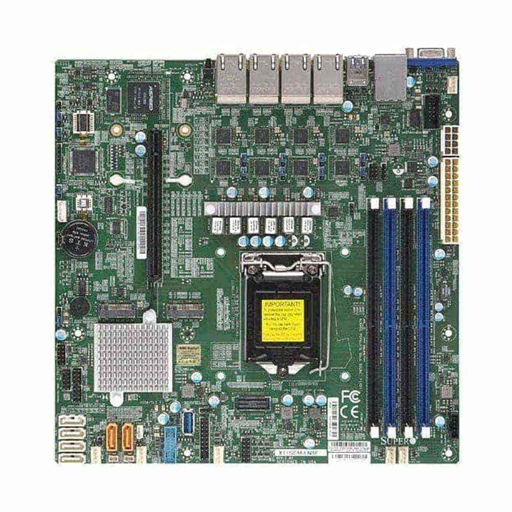 Supermicro X11SCM-F. Socket 1151. Micro-ATX.