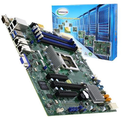 Supermicro X11SSL-F-O. Socket 1151. Micro-ATX.
