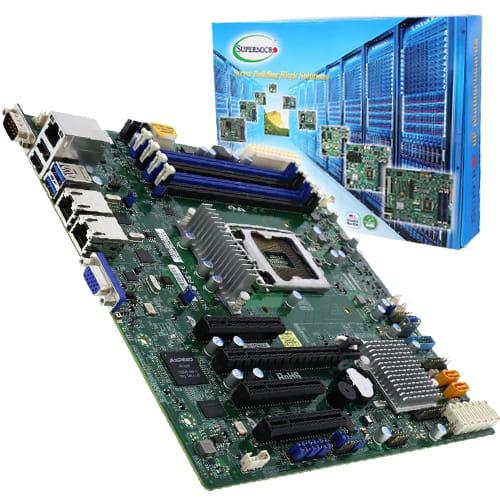 Supermicro MBD-X11SSM-F-O. Socket 1151. Micro-ATX.