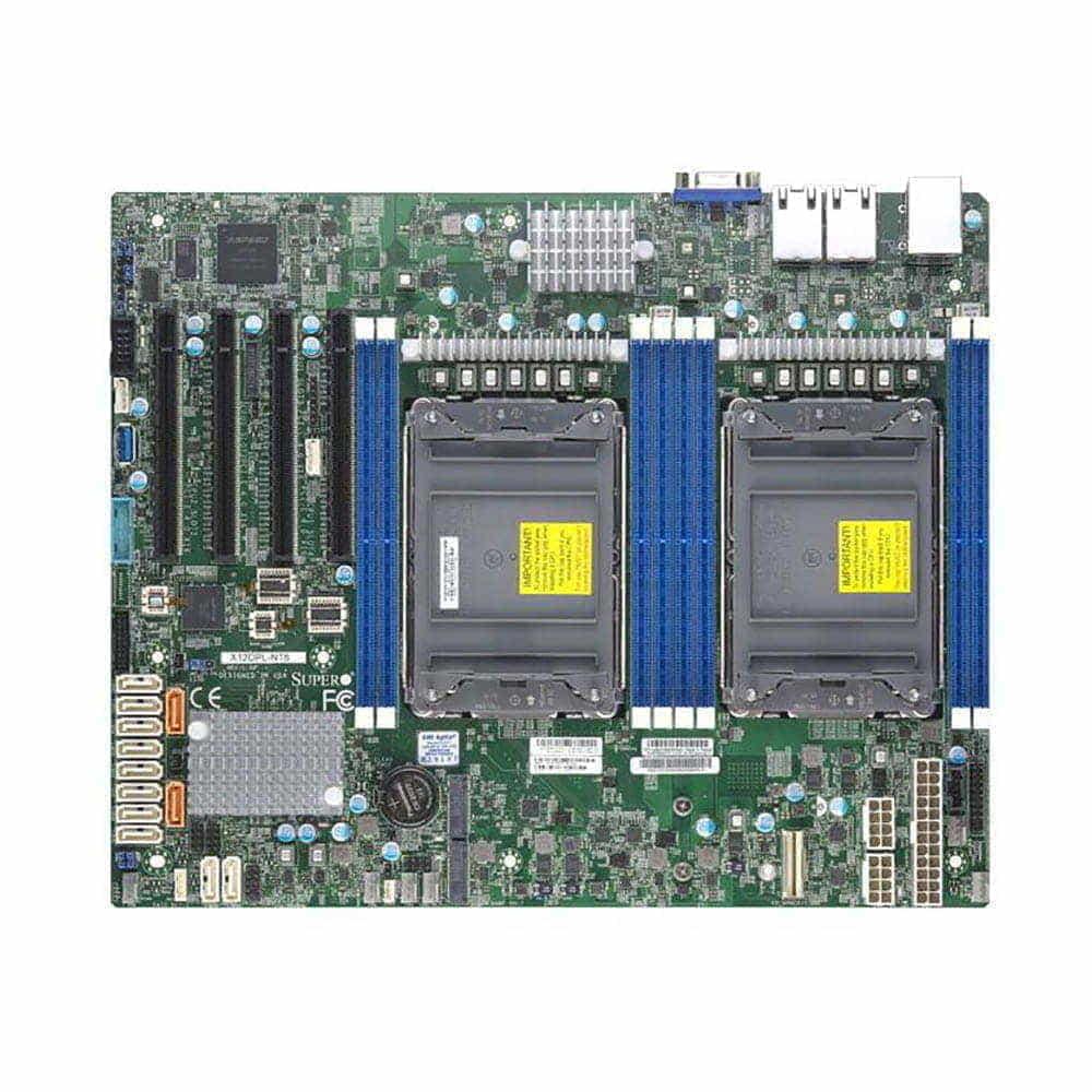 Supermicro MBD-X12DPL-NT6. 2x Socket 4189.