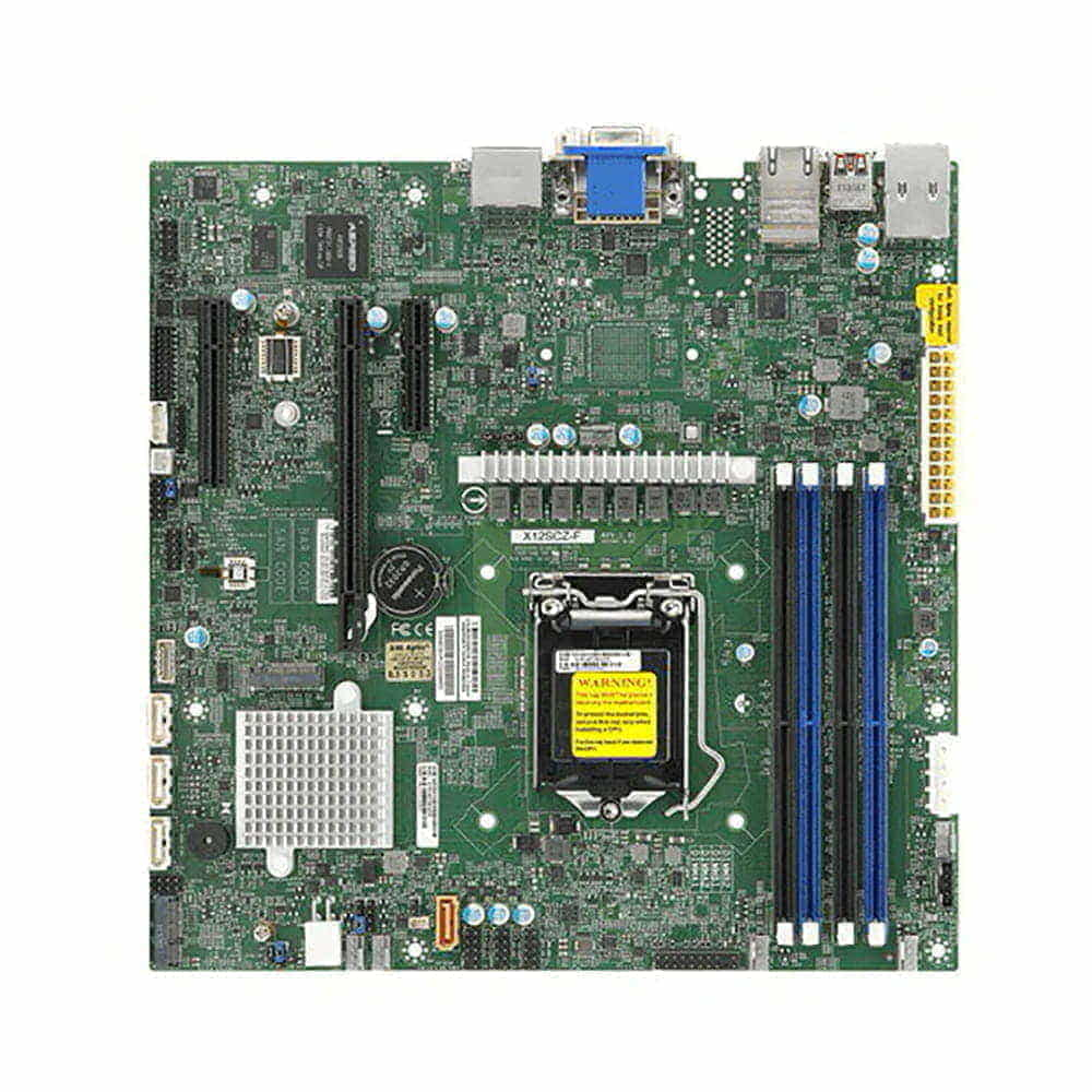 Supermicro MBD-X12SCZ-F-B. Socket 1200. Micro-ATX. BULK.