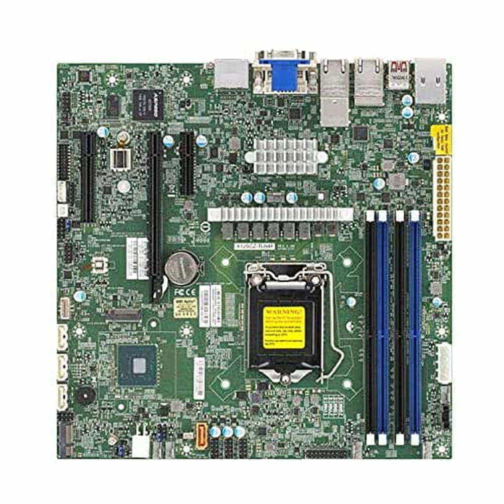 Supermicro MBD-X12SCZ-TLN4F. Socket 1200. Micro-ATX. BULK.