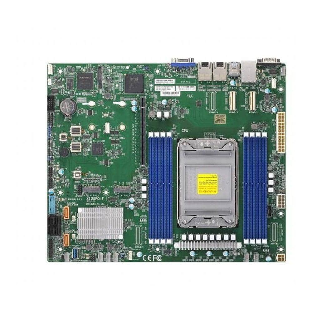 Supermicro MBD-X12SPO-F. Socket 4189.