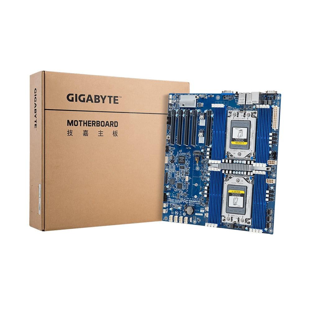 Gigabyte MZ71-CE0. 2x Socket SP3.