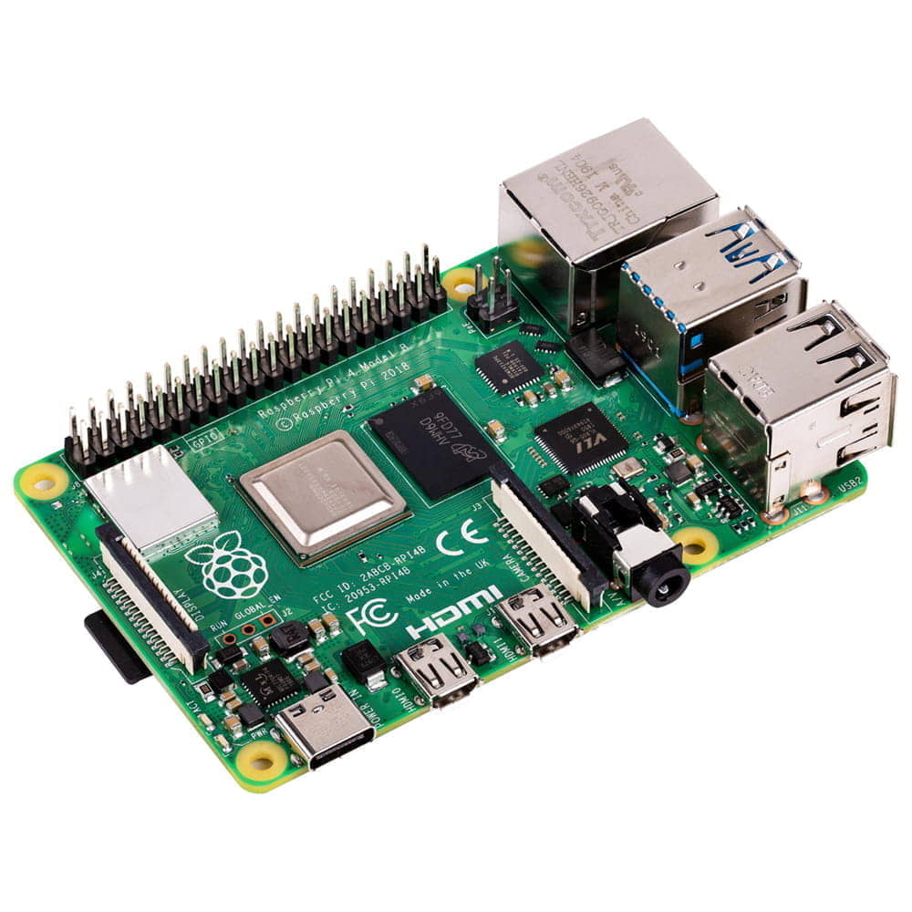 Placa Raspberry Pi 4 Model B 1.5GbHz + 1Gb LPDDR4