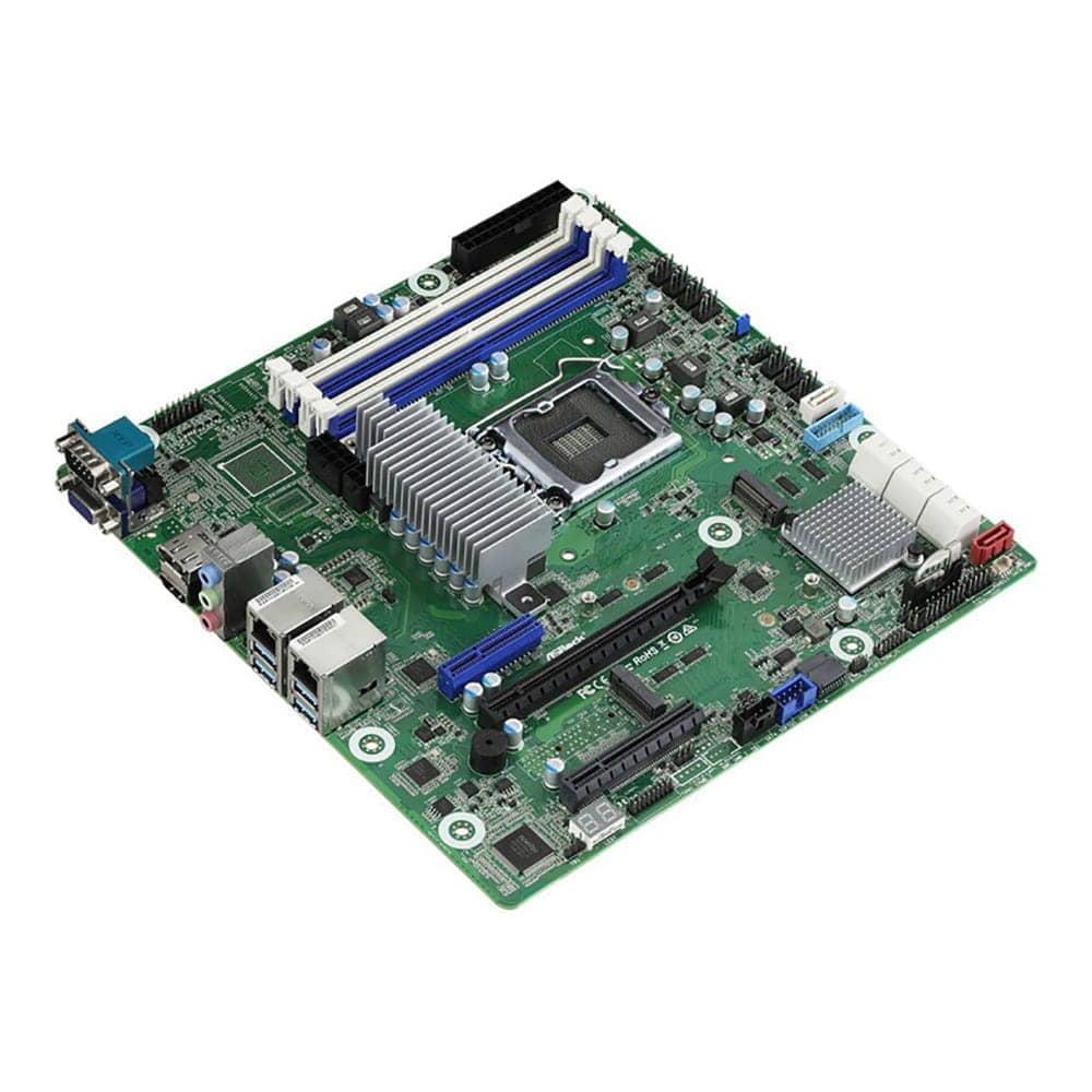 Asrock W480D4U. Socket 1200. Micro-ATX.