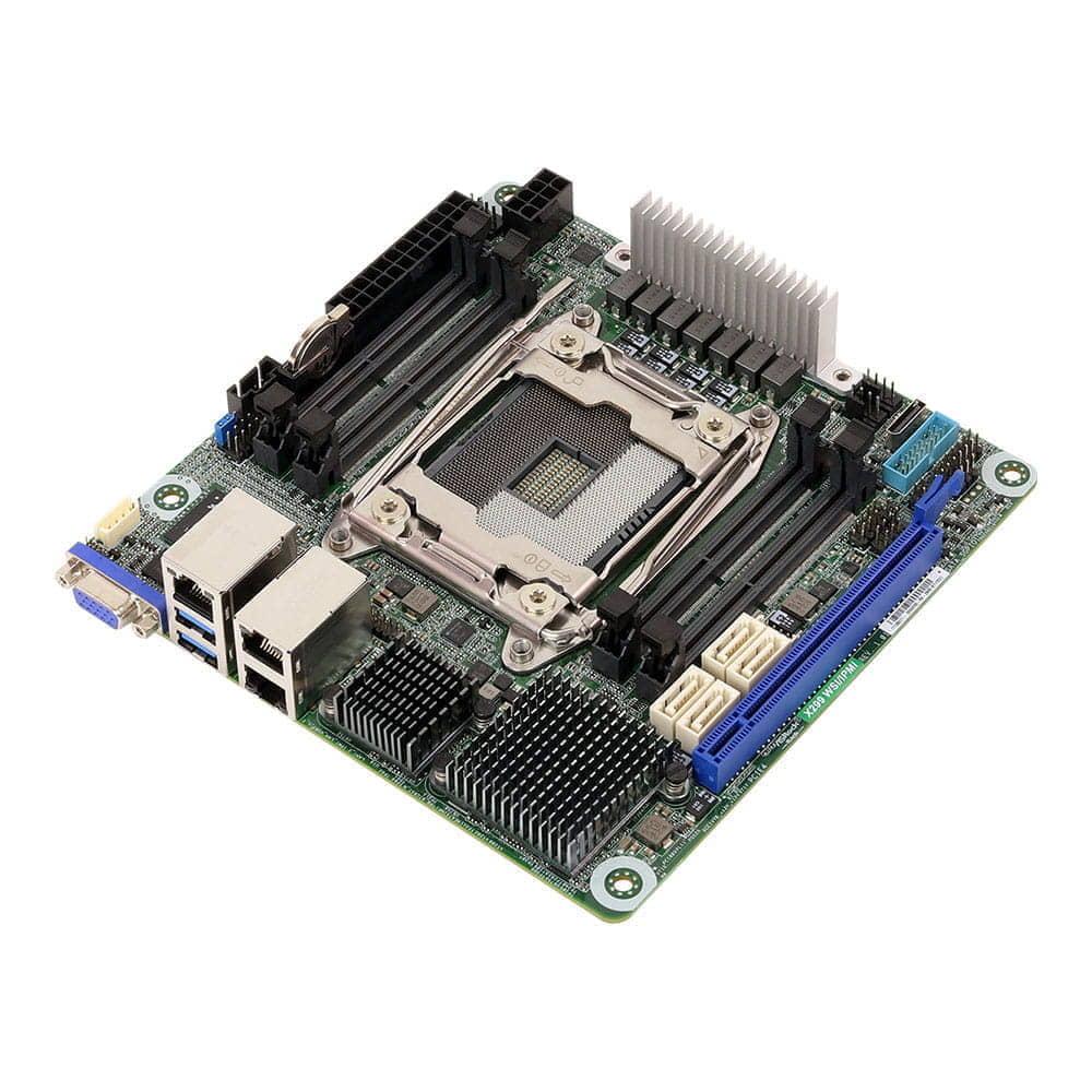 Asrock Rack X299 WSI/IPMI. Socket 2066. Mini-ITX.