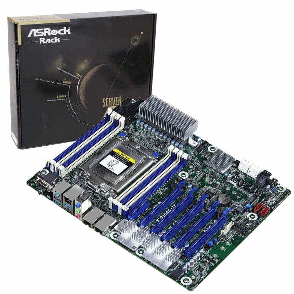 Asrock Rack X399D8A-2T. Socket TR4.