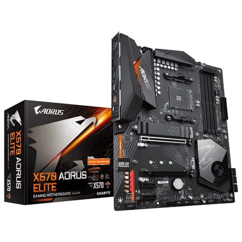 Gigabyte X570 Aorus Elite. Socket AM4.