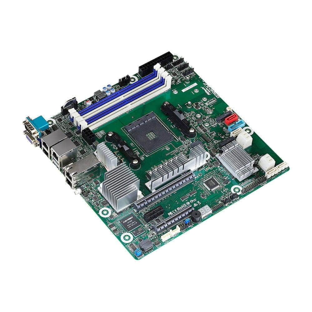 Asrock Rack X570D4U-2L2T. Socket AM4. Micro-ATX.