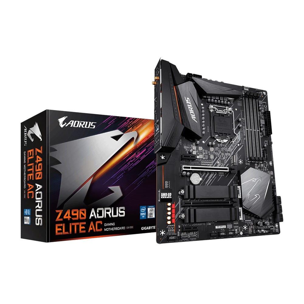 Gigabyte Z490 Aorus Elite AC. Socket 1200.