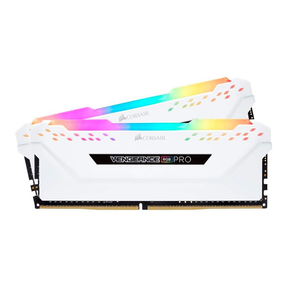Corsair Vengeance RGB Pro 16Gb (2x 8Gb) DDR4 3200Mhz 1.35V Blanca