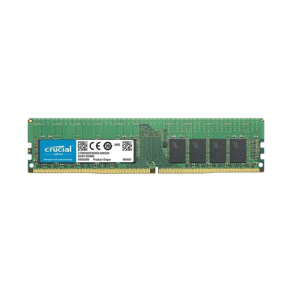 Crucial 16Gb DDR4 2666Mhz 1.2V ECC Reg.