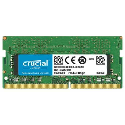 CRUCIAL 4GB SO-DIMM DDR4 2400MHZ 1.2V REFURBISHED