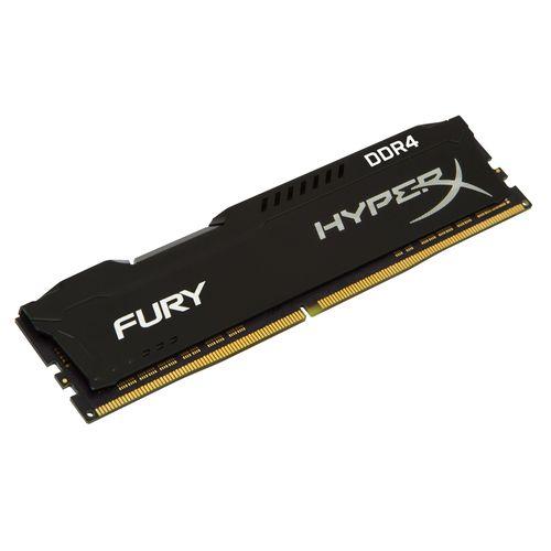 Kingston HyperX Fury Black 16Gb DDR4 2400Mhz 1.2V