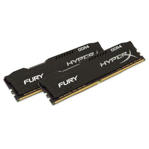Kingston HyperX Fury Black 16Gb (2x8Gb) DDR4 2400Mhz 1.2V