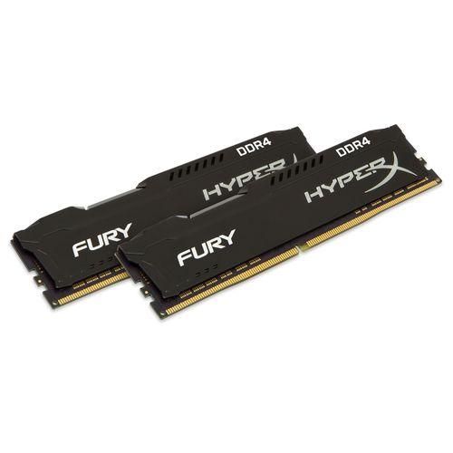 Kingston HyperX Fury Black 16Gb (2x8Gb) DDR4 2666Mhz 1.2V