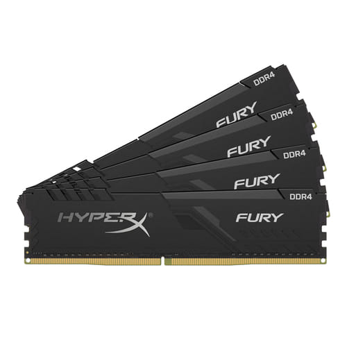 Kingston HyperX Fury Black 32Gb (4x8Gb) DDR4 3000Mhz 1.35V