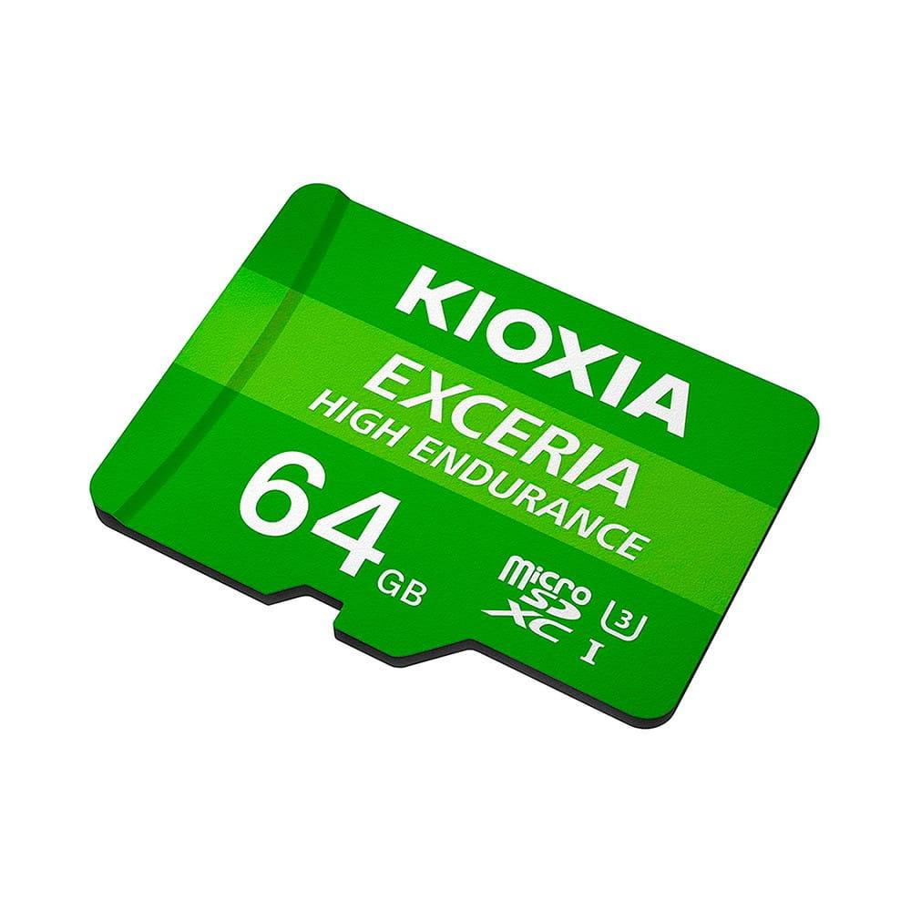 Kioxia Exceria High Endurance MicroSD 64Gb UHS-I
