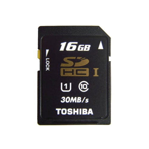 Toshiba 16Gb SD CL10