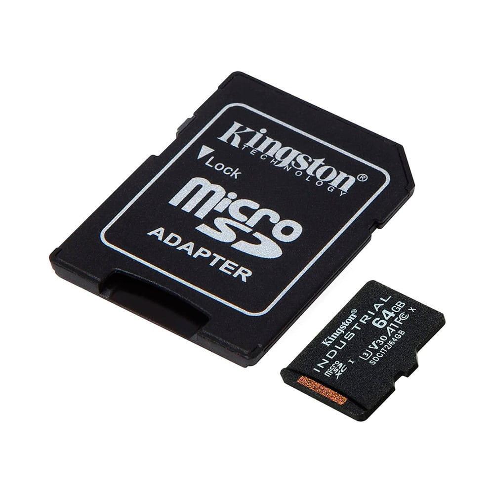 Kingston Industrial 64Gb MicroSDHC Clase 10