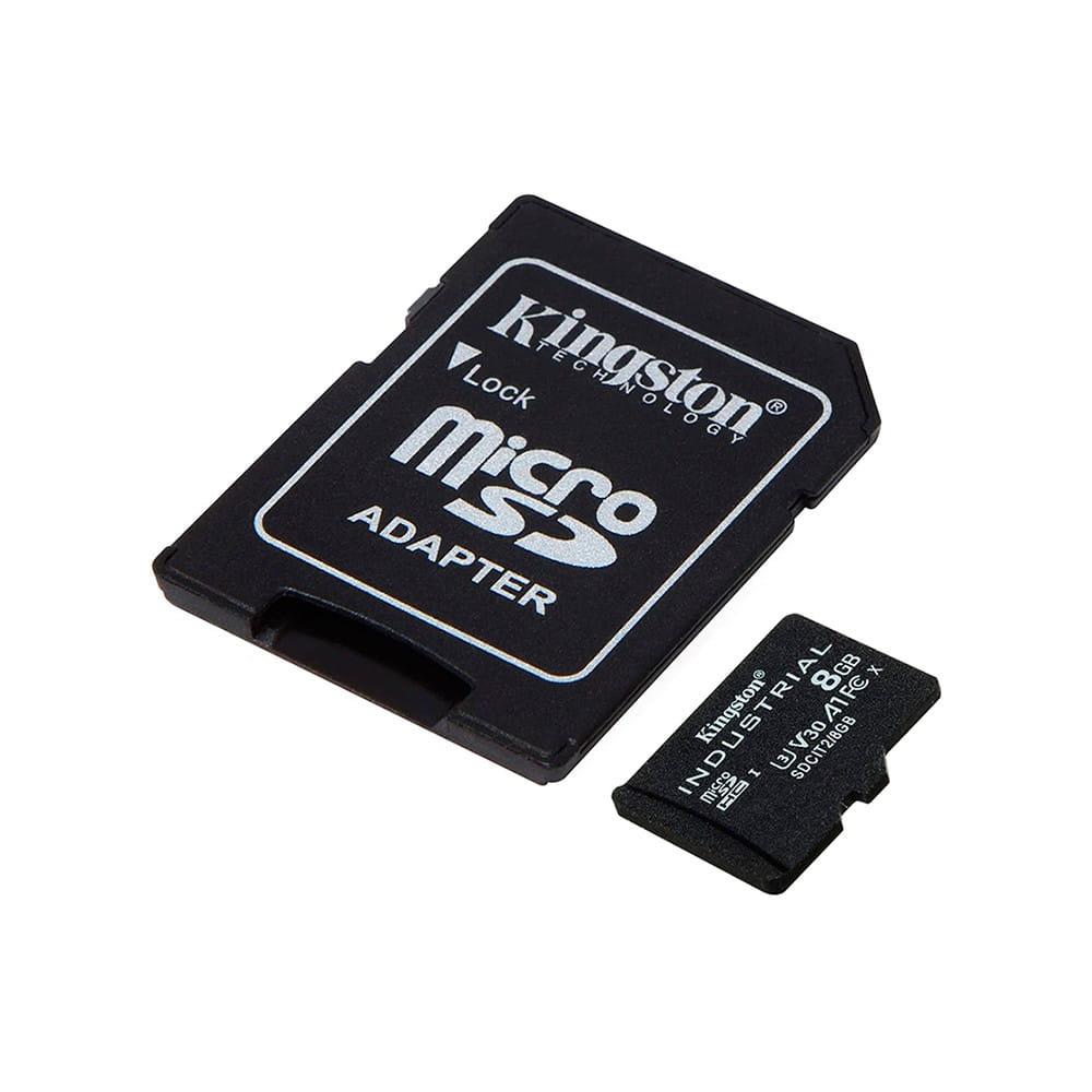 Kingston Industrial 8Gb MicroSDHC Clase 10