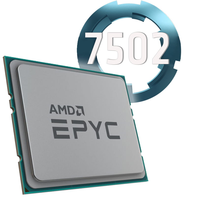 Amd EPYC 7502 3.35Ghz Socket SP3. Bulk.