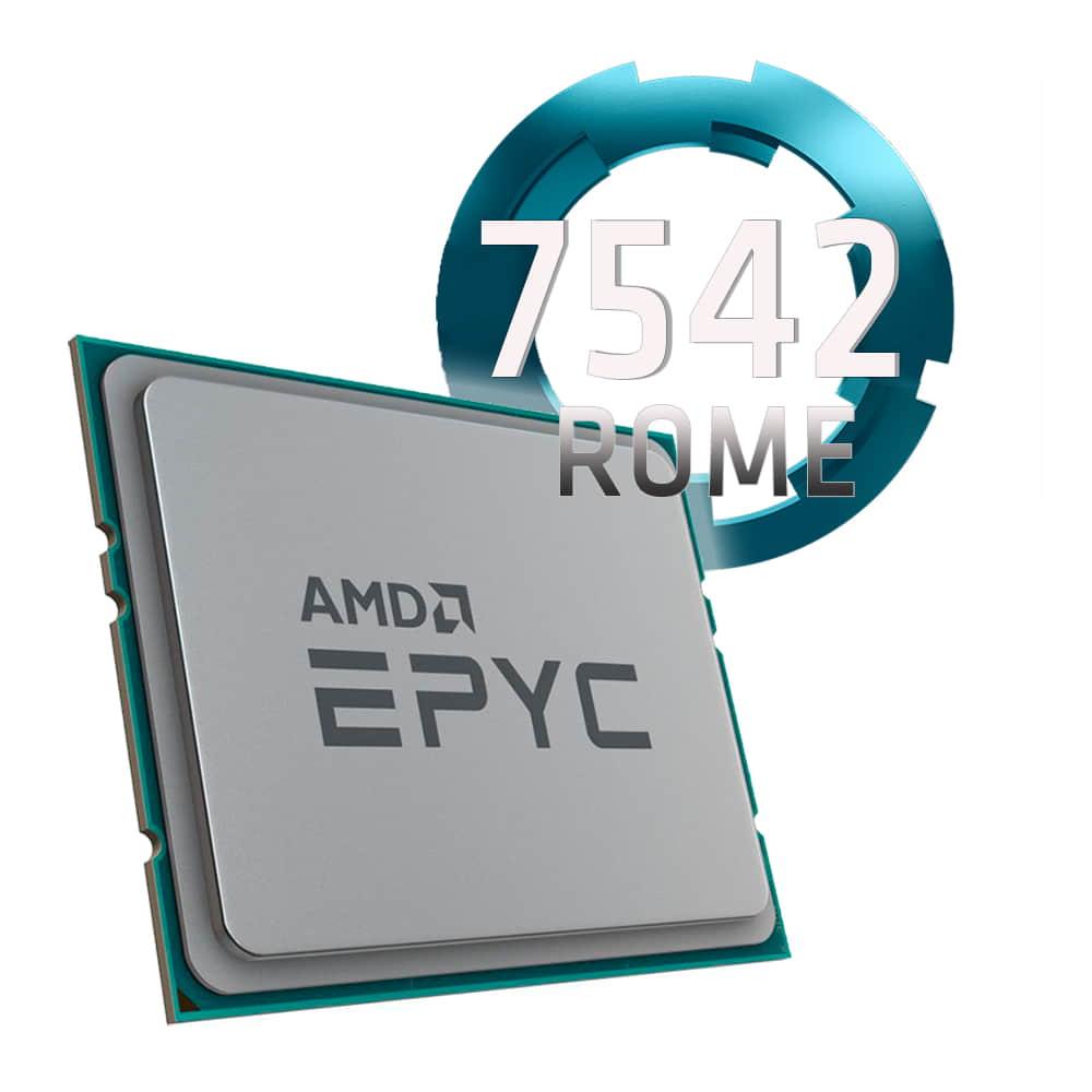 Amd EPYC 7542 2.9Ghz. Socket SP3. TRAY.