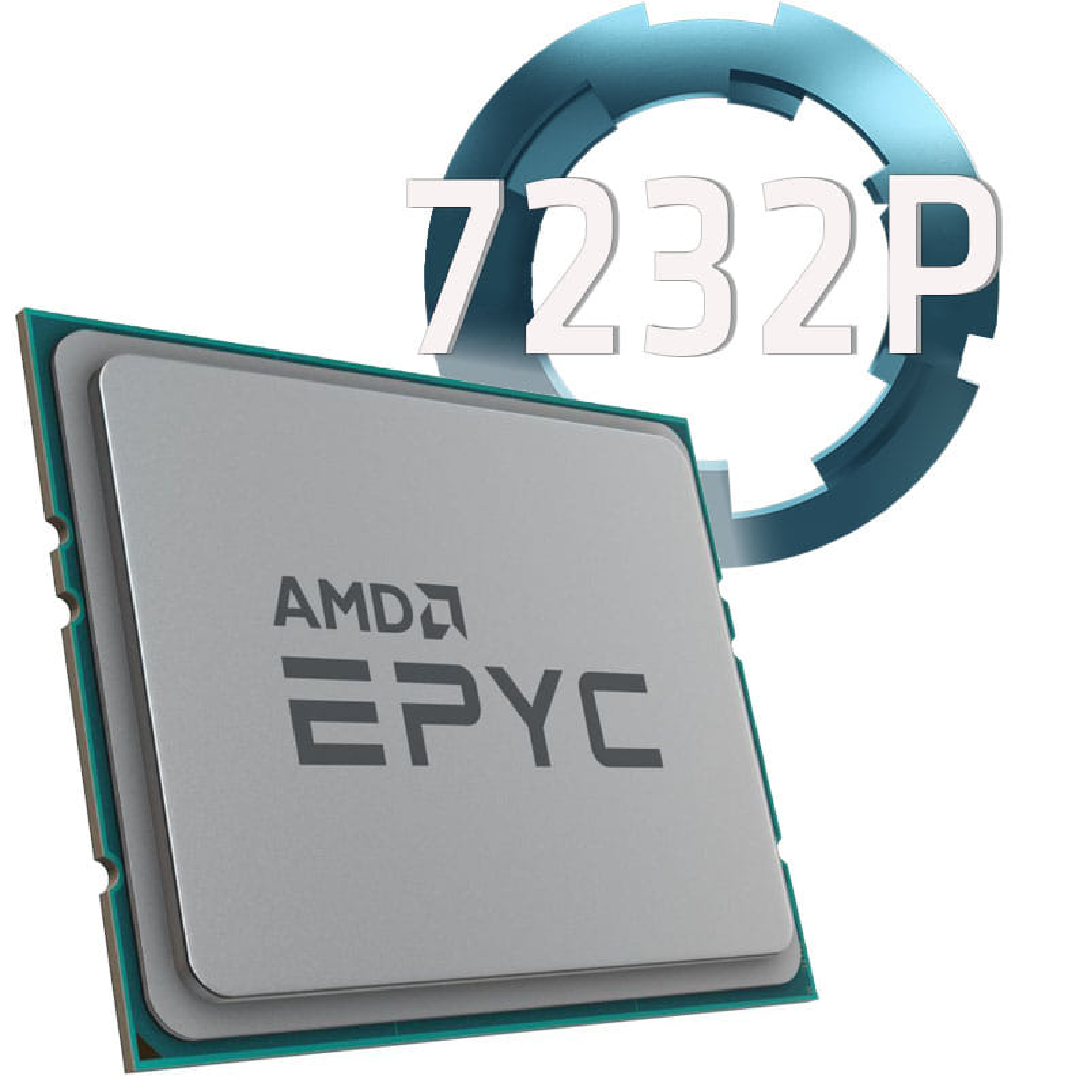 Amd EPYC 7232P 3.1Ghz. Socket SP3. TRAY