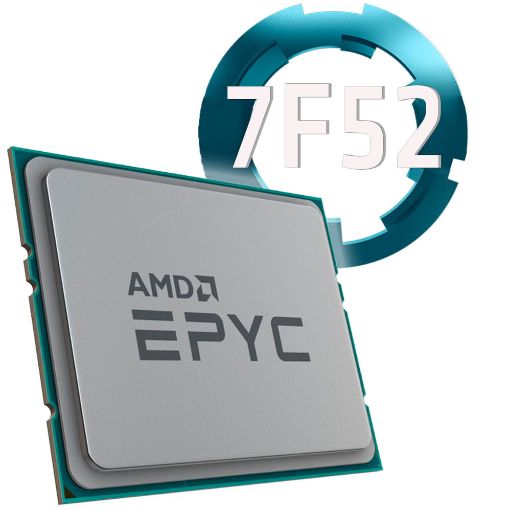 Amd EPYC 7F52 3.5Ghz. Socket SP3. TRAY.