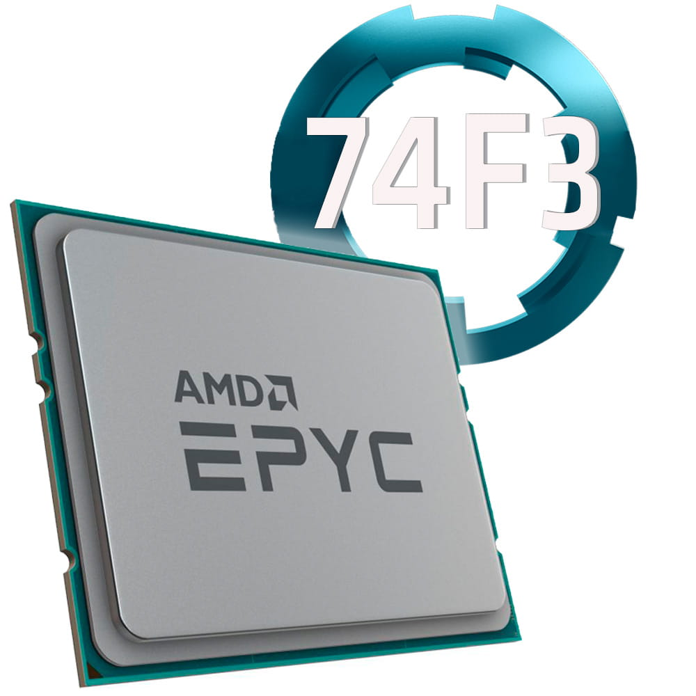 Amd EPYC 74F3 3.2Ghz. Socket SP3. TRAY