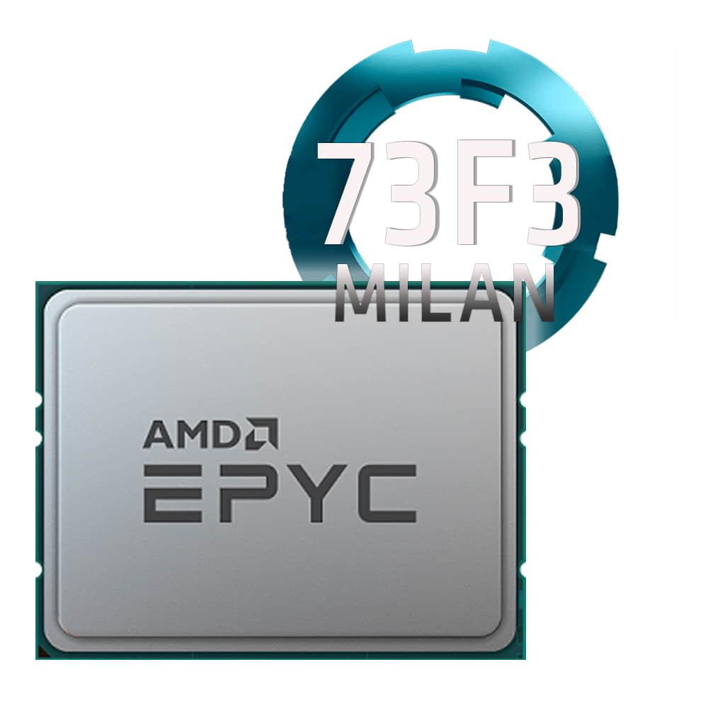 Amd EPYC 73F3 3.5Ghz. Socket SP3. TRAY
