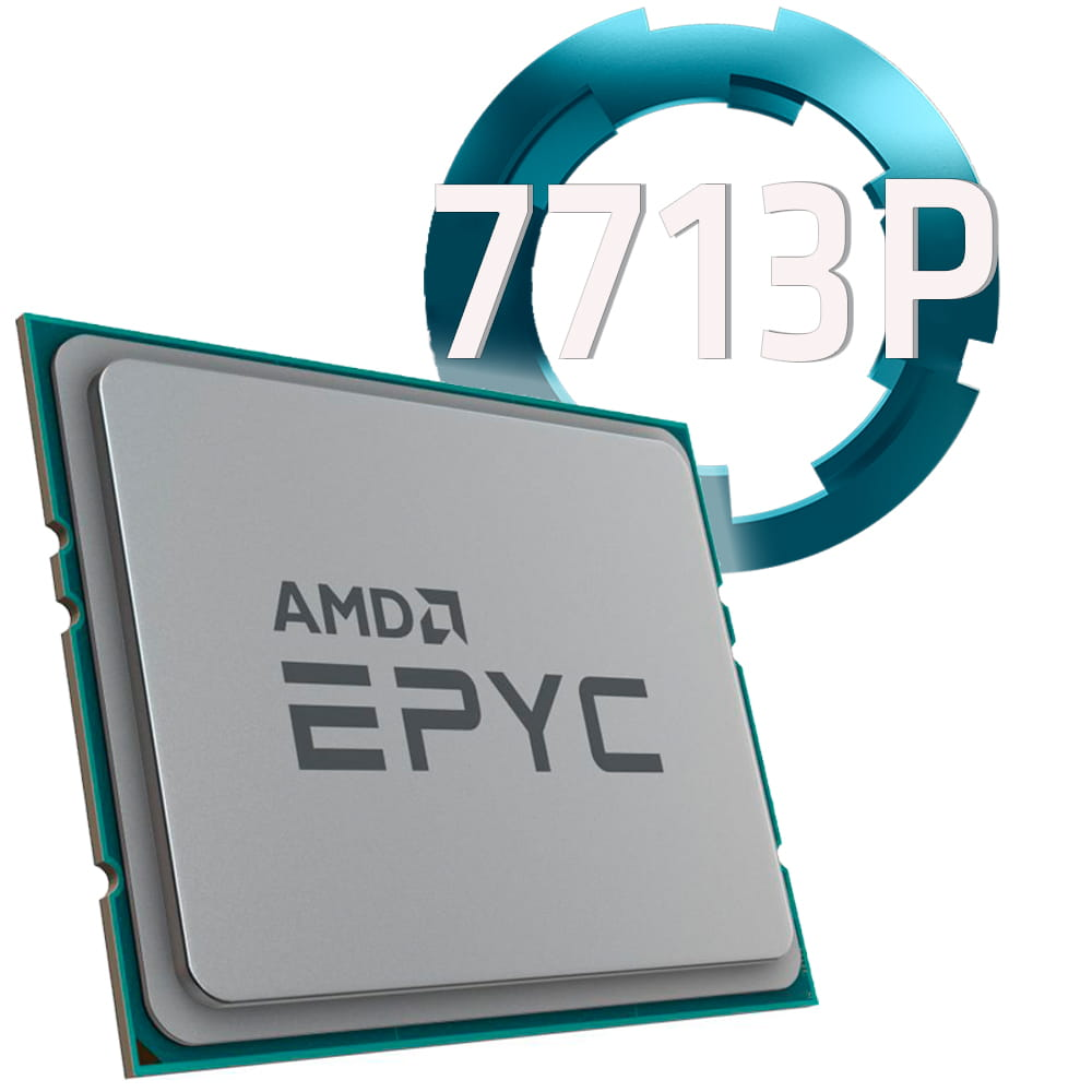 Amd EPYC 7713P 2.0Ghz. Socket SP3. TRAY.