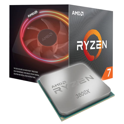 Amd Ryzen 7 3800X 3.9Ghz AM4