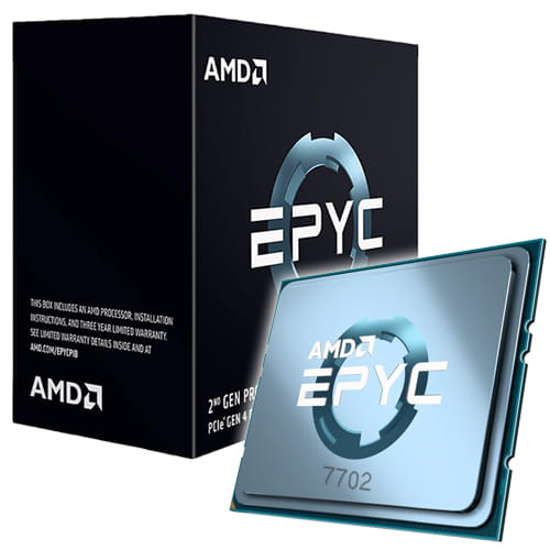 Amd EPYC 7702 3.35Ghz Socket SP3.