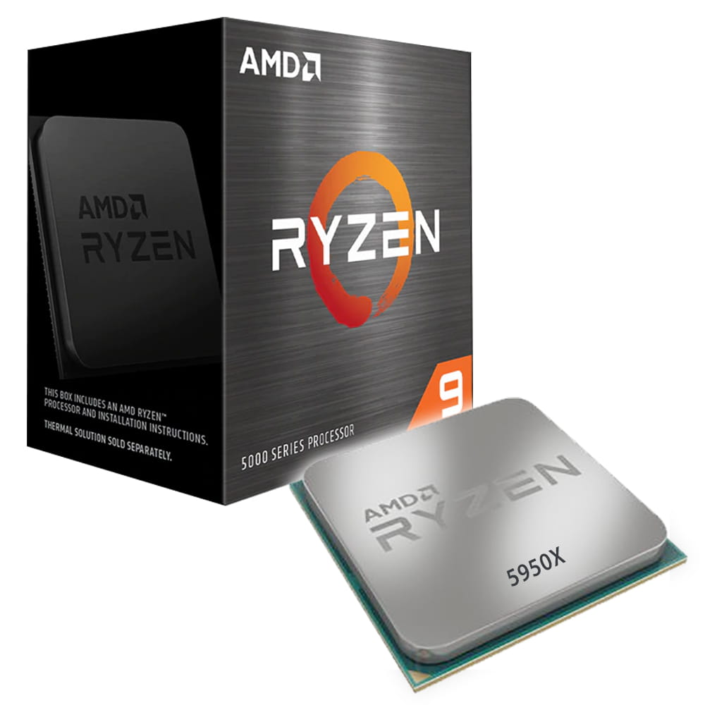 Amd Ryzen 9 5950X 4.9Ghz. Socket AM4.
