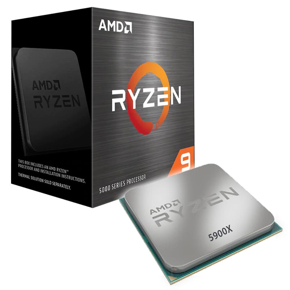 Amd Ryzen 9 5900X 4.8Ghz. Socket AM4.