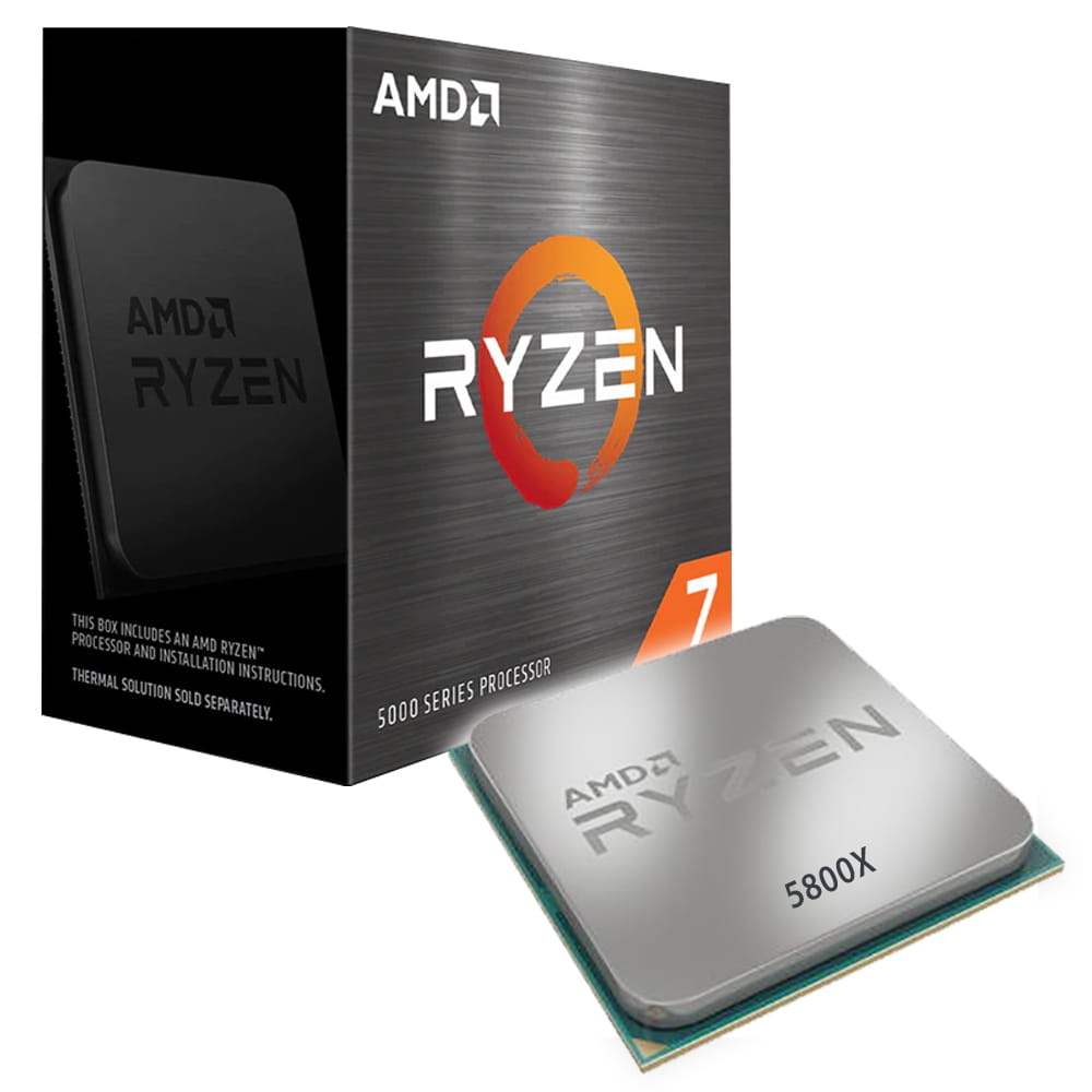 Amd Ryzen 7 5800X 4.7Ghz. Socket AM4.