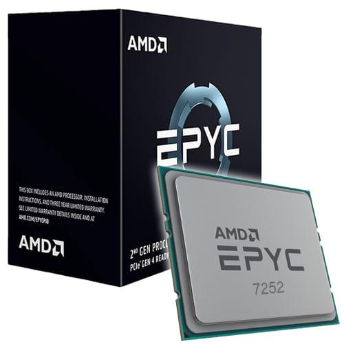 Amd EPYC 7252 3.2Ghz Socket SP3.