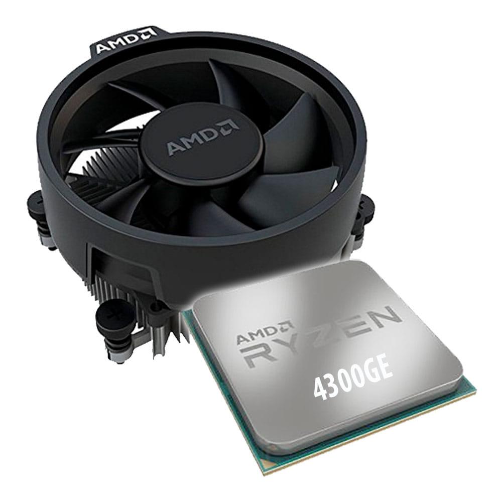 Amd Ryzen 3 4300GE 3.5Ghz. Socket AM4. Multipack.