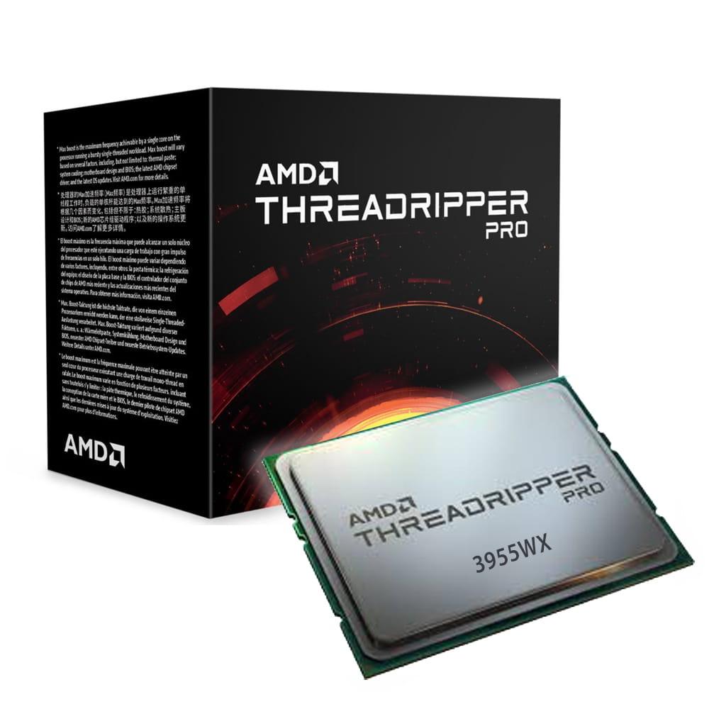 Amd Ryzen Threadripper Pro 3955WX 3.9Ghz. Socket sWRX80.