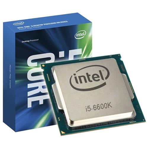 Intel Core I5-6600K 3.5Ghz (Skylake) 1151