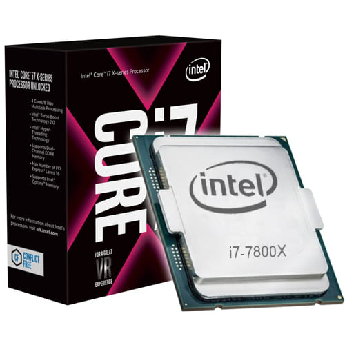 Intel Core I7-7800X 3.5Ghz. 2066.