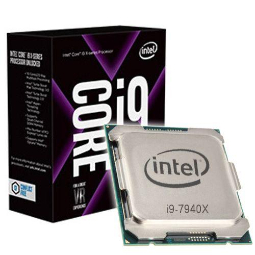 Intel Core I9-7940X 3.1Ghz. 2066.